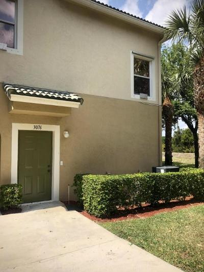 Greenacres Condo For Sale: 3076 Grandiflora Drive