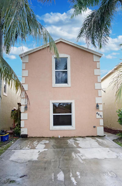 Lake Worth Single Family Home For Sale: 4671 Clemens Street