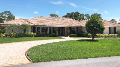 Tequesta Single Family Home Contingent: 116 SE Turtle Creek Drive