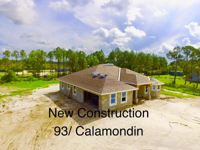 Loxahatchee Single Family Home For Sale: 18591 93rd