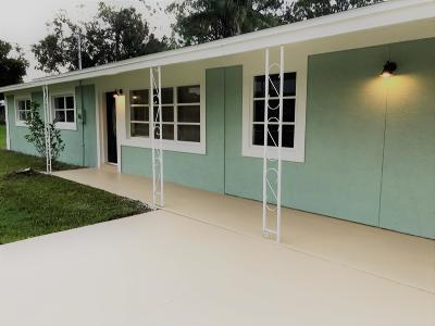 Fort Pierce Single Family Home For Sale: 990 Emerald Avenue