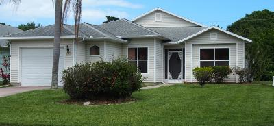 Fort Pierce Single Family Home For Sale: 5954 Travelers Way