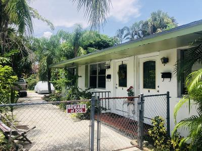 West Palm Beach Multi Family Home For Sale: 436 27th Street