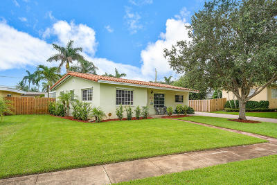 Lake Worth Single Family Home For Sale: 1413 Tahoe Court