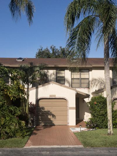 Boca Raton Townhouse For Sale: 23286 SW 54th Way #E