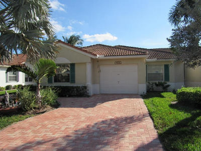 Delray Beach Single Family Home For Sale: 6106 Lake Hibiscus Drive