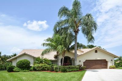 Boca Raton Single Family Home For Sale: 5147 Deerhurst Crescent Circle
