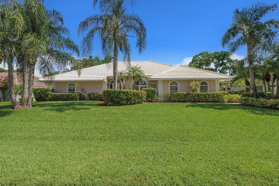 Palm Beach Gardens Single Family Home For Sale: 7 Dunbar Road