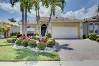 Boynton Beach Single Family Home For Sale: 6952 Southport Drive