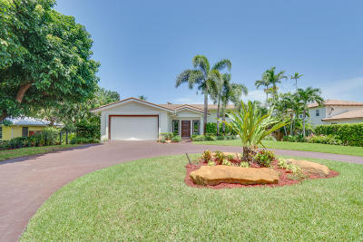 Boynton Beach Single Family Home For Sale: 3300 Ridge Lane