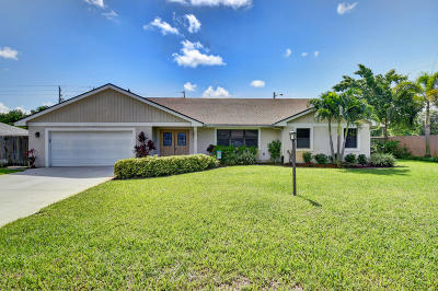 Boynton Beach Single Family Home For Sale: 4115 Fox Trace
