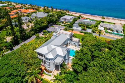 Gulf Stream, Ocean Ridge Single Family Home For Sale: 6080 Old Ocean Boulevard