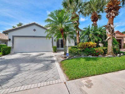 Boynton Beach Single Family Home Contingent: 6513 Sun River Road
