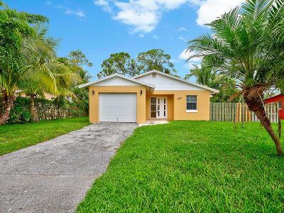 Lake Worth Single Family Home For Sale: 4883 Dell Avenue