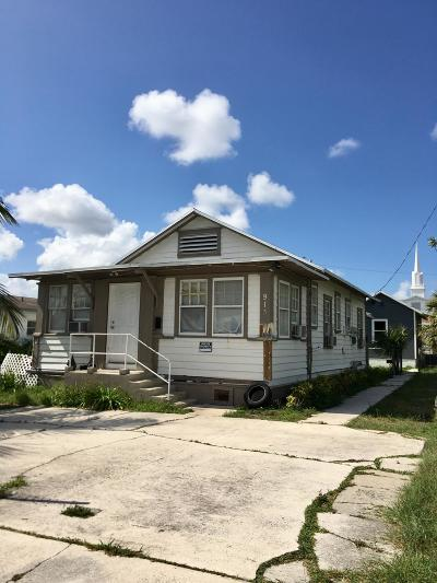 West Palm Beach Multi Family Home For Sale: 913 8th Street