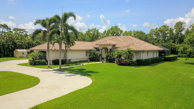 Jupiter Single Family Home For Sale: 11716 165th Road