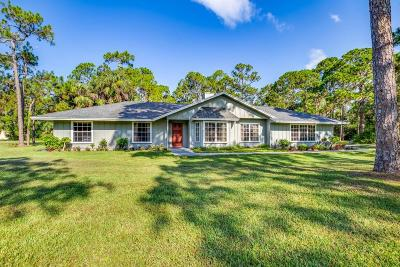 Jupiter Single Family Home For Sale: 15899 118th Trail
