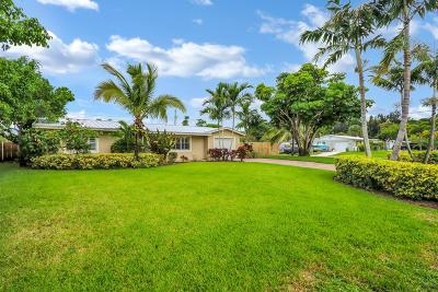Stuart Single Family Home For Sale: 1293 SE Madison Avenue