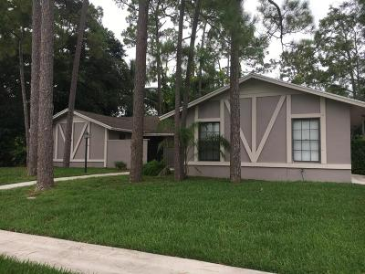 Wellington Single Family Home For Sale: 12140 Tumbleweed Court