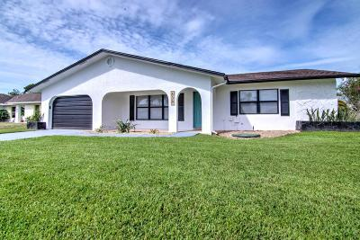 Port Saint Lucie Single Family Home For Sale: 638 SE Clifton Lane