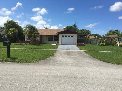 Royal Palm Beach Single Family Home For Sale: 923 Orchid Drive