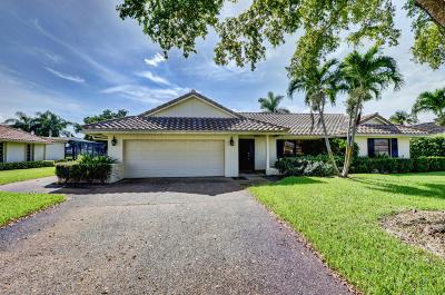 Boynton Beach Single Family Home For Sale: 4734 S Lake Drive