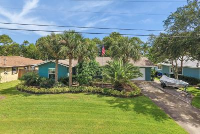 Palm City Single Family Home For Sale: 1219 SW Ibis Street