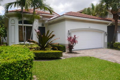 Boynton Beach Single Family Home For Sale: 1076 Grove Park Circle