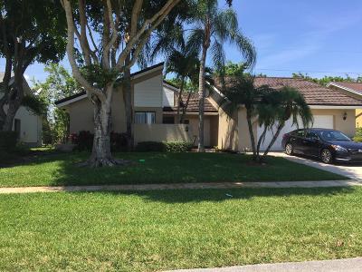 Boca Raton Single Family Home For Sale: 7555 E San Mateo Drive E