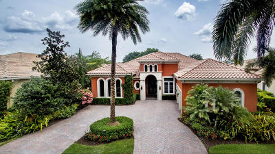 West Palm Beach Single Family Home For Sale: 7940 Cranes Pointe Way