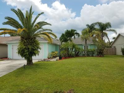 Stuart Single Family Home For Sale: 3966 SE Jacaranda Street