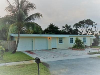 Pompano Beach Single Family Home For Sale: 4710 NE 15th Avenue