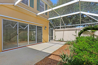 Tequesta Townhouse For Sale: 5 Tall Oaks Circle