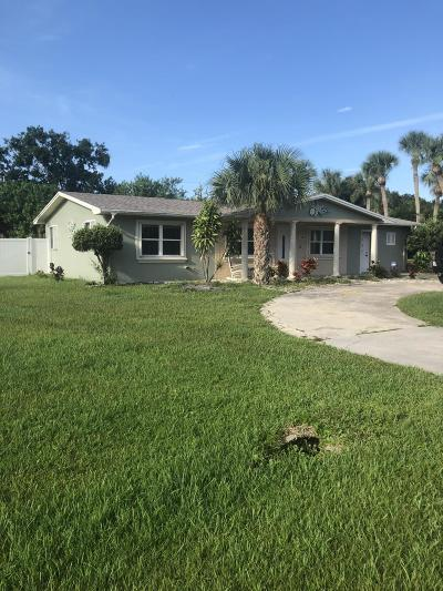 Fort Pierce Single Family Home For Sale: 7503 Salerno Road