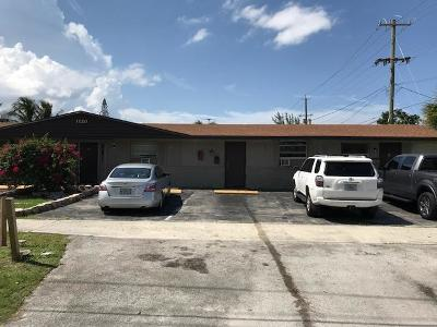 Lake Worth Multi Family Home For Sale: 1120 12th Avenue S #1