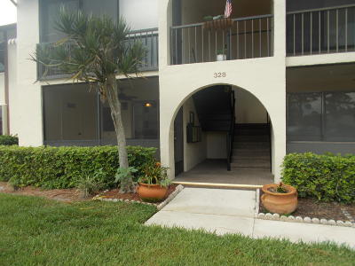 Greenacres Condo For Sale: 328 Knotty Pine Circle #A-1
