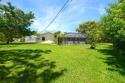 Fort Pierce Single Family Home Contingent: 6501 Ocala Avenue