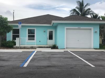 Lake Worth Single Family Home For Sale: 3537 Davis Landings Circle