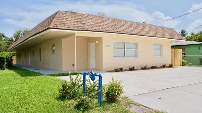 Delray Beach Multi Family Home For Sale: 614 NW 2nd Street