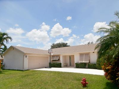 Boca Raton Single Family Home For Sale: 9924 Floral Park Lane