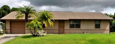 Port Saint Lucie Single Family Home For Sale: 1009 SW Cairo Avenue