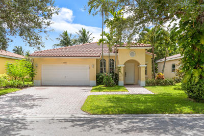 Coconut Creek Single Family Home For Sale: 4282 NW 44th Terrace