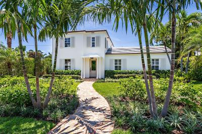 Palm Beach Single Family Home For Sale: 274 Orange Grove Road
