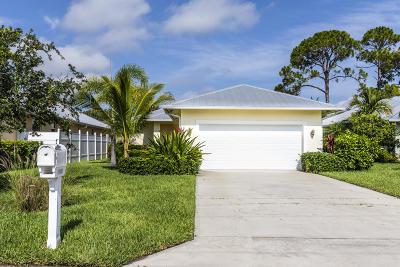 Jupiter Single Family Home For Sale: 17635 Cinquez Park Road E