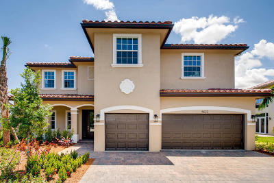 Coconut Creek Single Family Home For Sale: 4622 Saxon Road