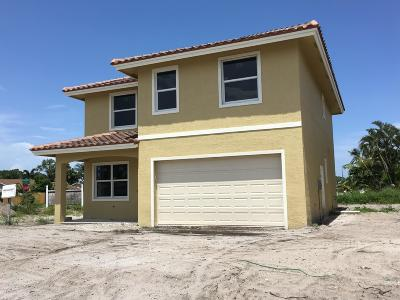 Greenacres Single Family Home For Sale: 3923 New Valencia