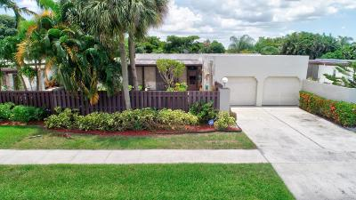Boynton Beach Single Family Home For Sale: 5358 Stonybrook Drive