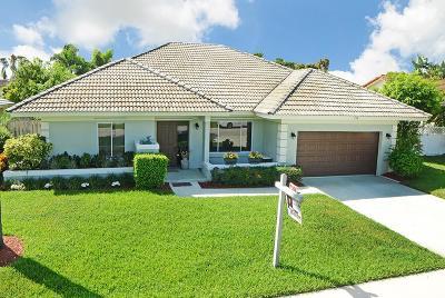 Boca Raton Single Family Home For Sale: 436 Prairie Rose Lane