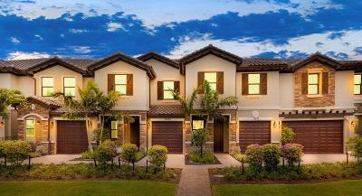 Boynton Beach Townhouse For Sale: 5303 Santa Maria Avenue