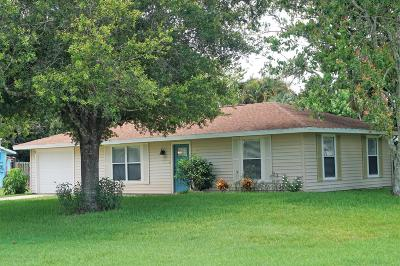 Fort Pierce Single Family Home For Sale: 8502 Citrus Park Boulevard